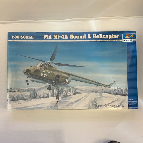 Soviet Mil MI-4A Hound A Helicopter | TRP5101 | 1/35 Scale Model Kit