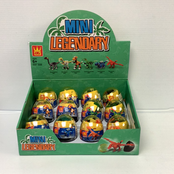 Dinosaur Egg Small (12 case pack) | WAG63016 | IMEX Model Company-Figures-ProTinkerToys.com