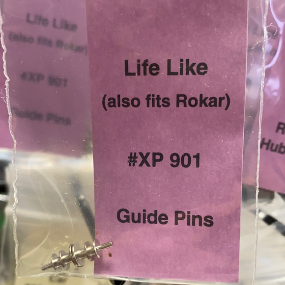 Guide Pins | XP 901 | Life Like-Toys & Hobbies:Slot Cars:1/32 Scale:1970-Now-ProTinkerToys.com