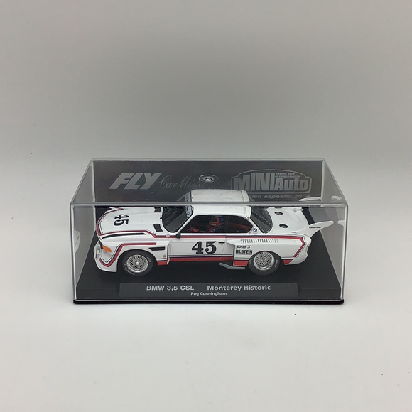 BMW 3'5 CSL Monterey Historic | 96036 | Fly Car-Toys & Hobbies:Slot Cars:1/32 Scale:1970-Now-ProTinkerToys.com
