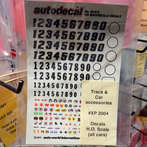 Decals H.O. Scale (all cars) | XP 2004 | Track & Car accessories-Toys & Hobbies:Slot Cars:1/32 Scale:1970-Now-ProTinkerToys.com