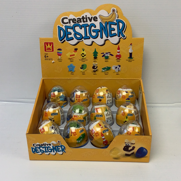 New Egg (12 case pack) | WAG61016 | IMEX Model Company-Figures-ProTinkerToys.com