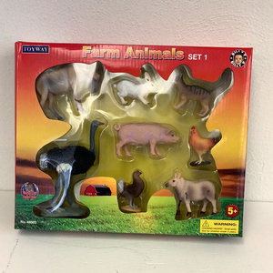 Boxed Farm Animals Collection Series 1-Figures-ProTinkerToys.com
