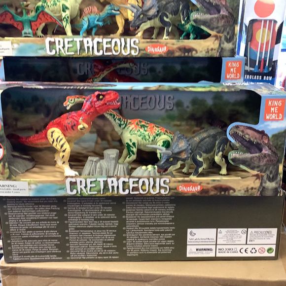 Assorted articulated dinosaurs| 49012| 3 dinosaurs-IMEX-ProTinkerToys