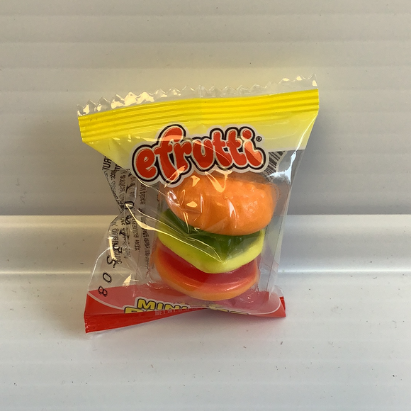 Efruitti Gummy Mini Burger | 7358 | Nassau Candy-ProTinkerToys.com-ProTinkerToys