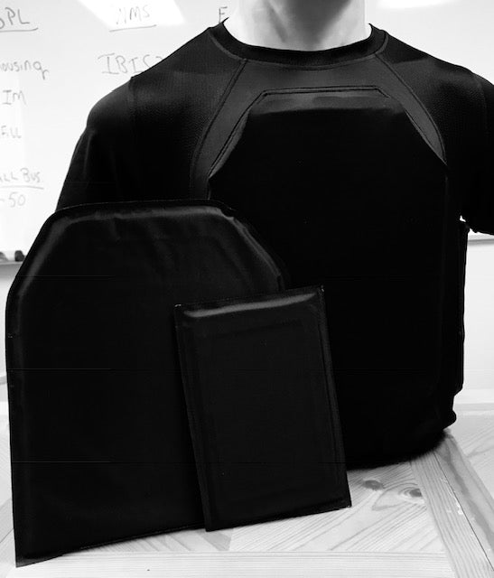 CONTACT ARMOR™ HYBRID COOL SHIRT ARMOR KITS  4 PANELS