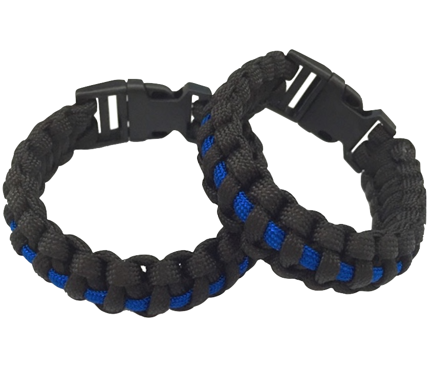 CONTACT ARMOR™ PARACORD BRACELET WITH SURVIVAL FIRE START