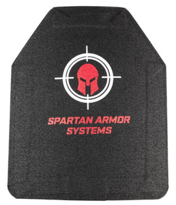 SPARTAN™ BODY ARMOR MULTI HIT RIFLE CERAMIC BODY ARMOR LEVEL IV SET OF TWO