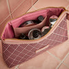 Essential Wash Bag, Cerise Deco, Inside Shot