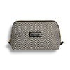 Large Beauty Makeup Bag, Black Deco