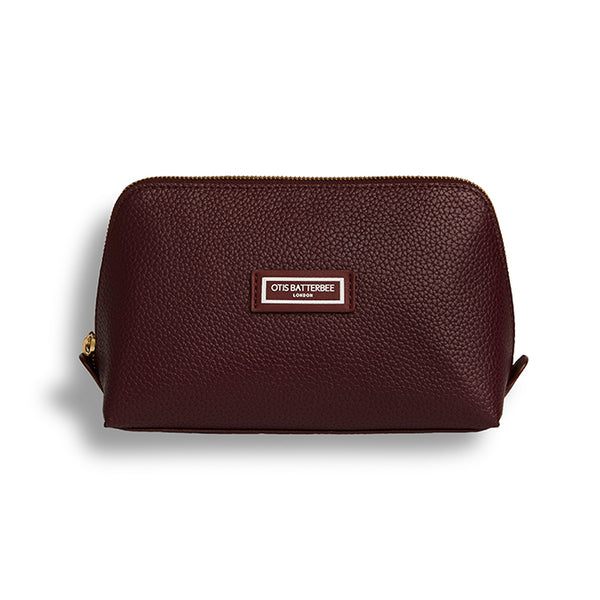 Large Beauty Makeup Bag, Burgundy