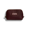 The Small Beauty Makeup Bag, Burgundy