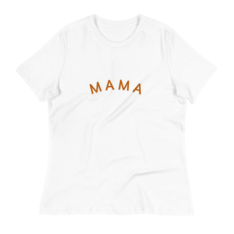 Mama | Women's Relaxed T-Shirt - Liberty and Co. - Fair Trade- Ethically Sourced- Sustainable  Goods