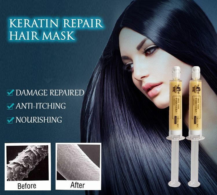 Keratin Repair Hair Mask (2 Pcs.)