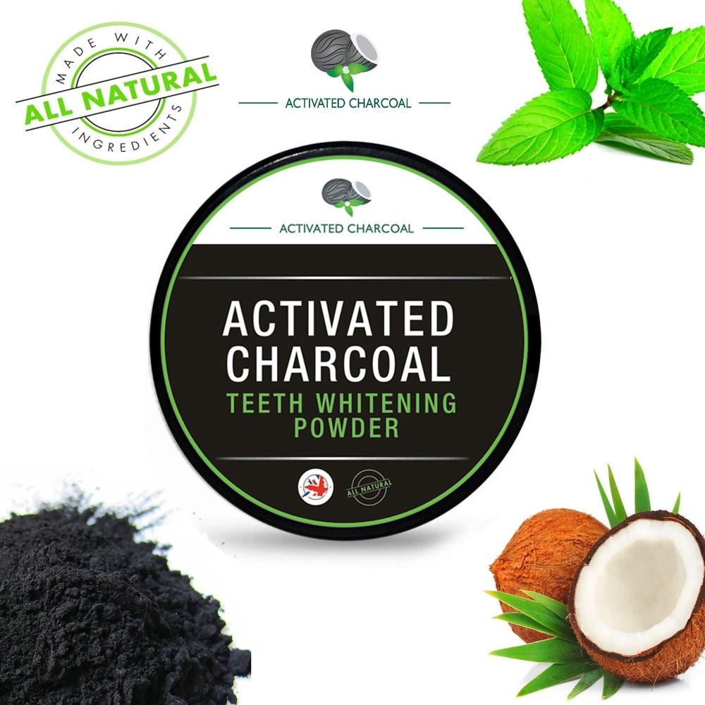 Activated Charcoal Teeth Whitening Powder Natural & Organic!