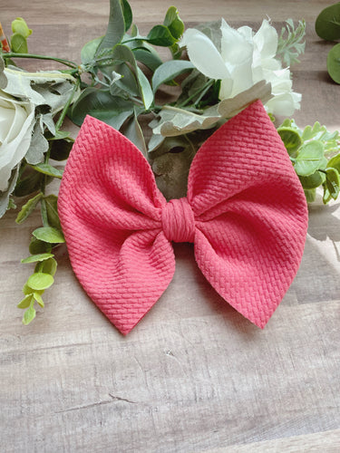Petal Pink {Bow} - Calli Alyse Boutique