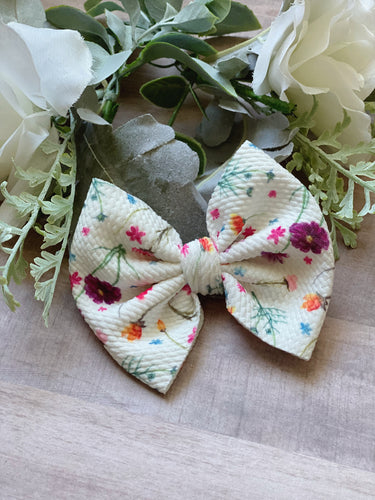 Summer Garden {Bow} - Calli Alyse Boutique