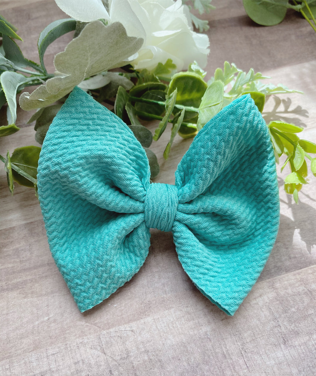 Sea Glass {Bow} - Calli Alyse Boutique