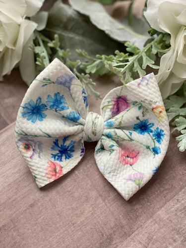 Endless Summer Floral {Bow} - Calli Alyse Boutique