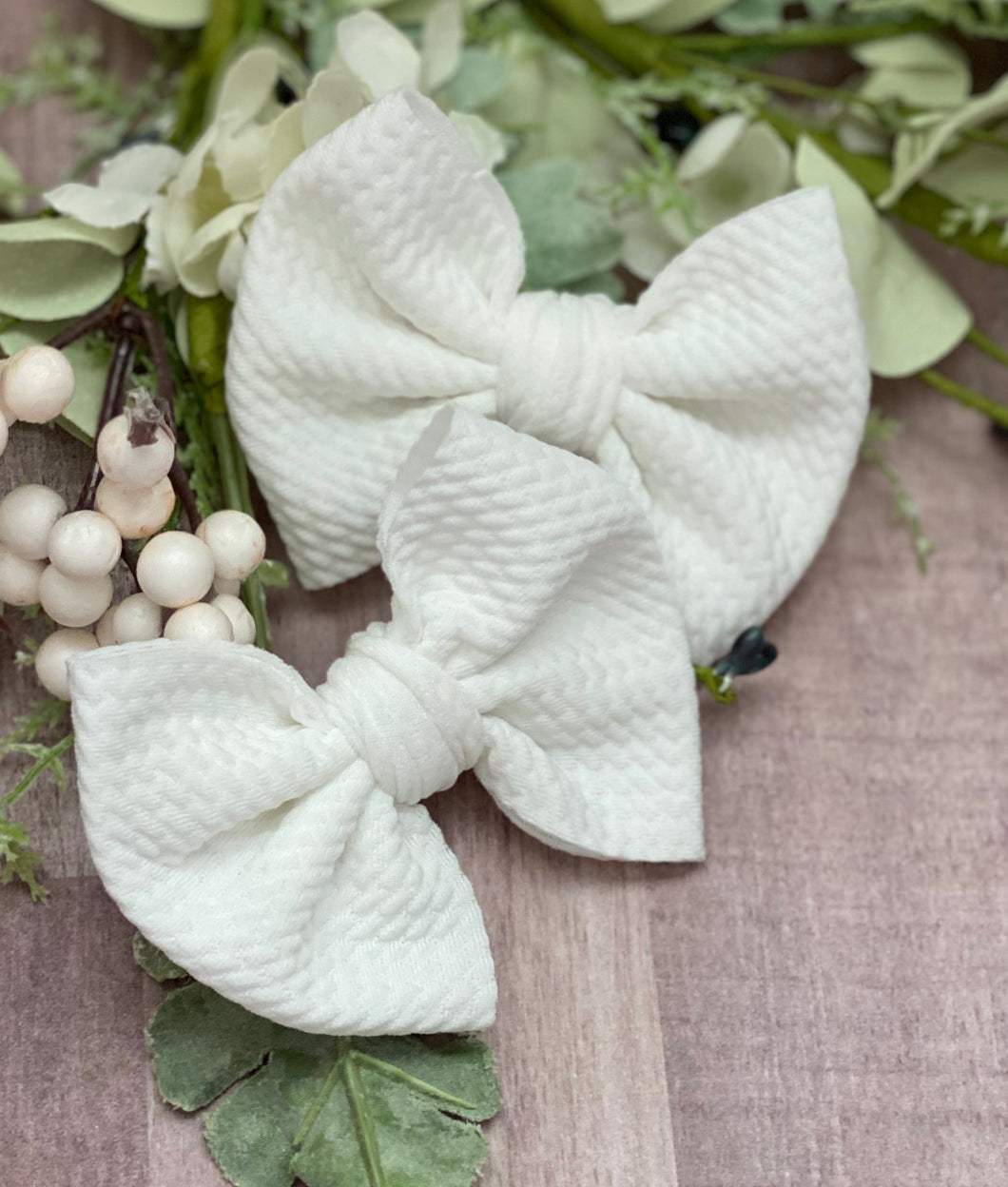 Vanilla Bean {bow} - Calli Alyse Boutique