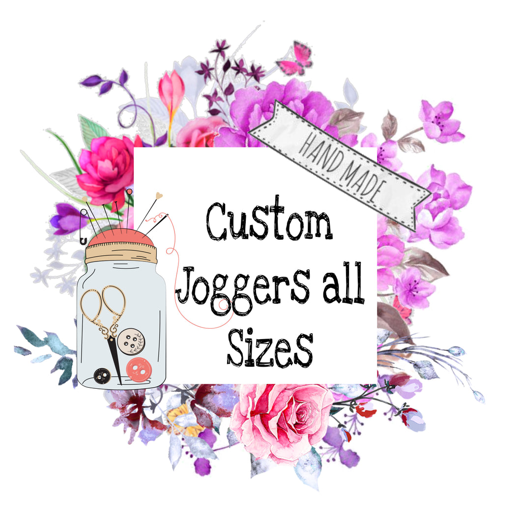 {Custom Order} Joggers & accessories - Calli Alyse Boutique