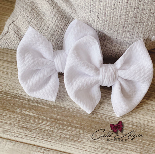 Cotton {bow} - Calli Alyse Boutique