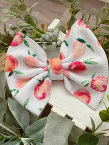 Perfectly Peach {bow} - Calli Alyse Boutique