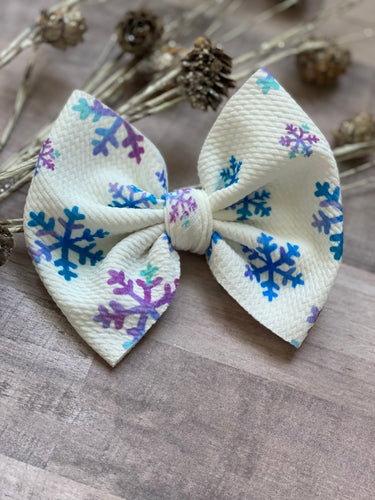 Let it Snow {Bow} - Calli Alyse Boutique
