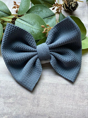 October Skies {Bow} - Calli Alyse Boutique
