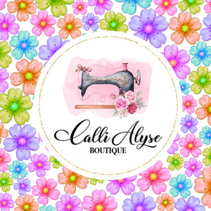 "Custom Perfectly Petite Bow (2"") - Calli Alyse Boutique"