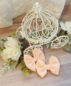 Peachy {Bow} - Calli Alyse Boutique