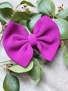 Orchid {Bow} - Calli Alyse Boutique