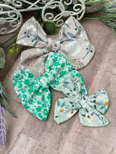 Load image into Gallery viewer, Seaside Collection {sewn cotton bows} - Calli Alyse Boutique
