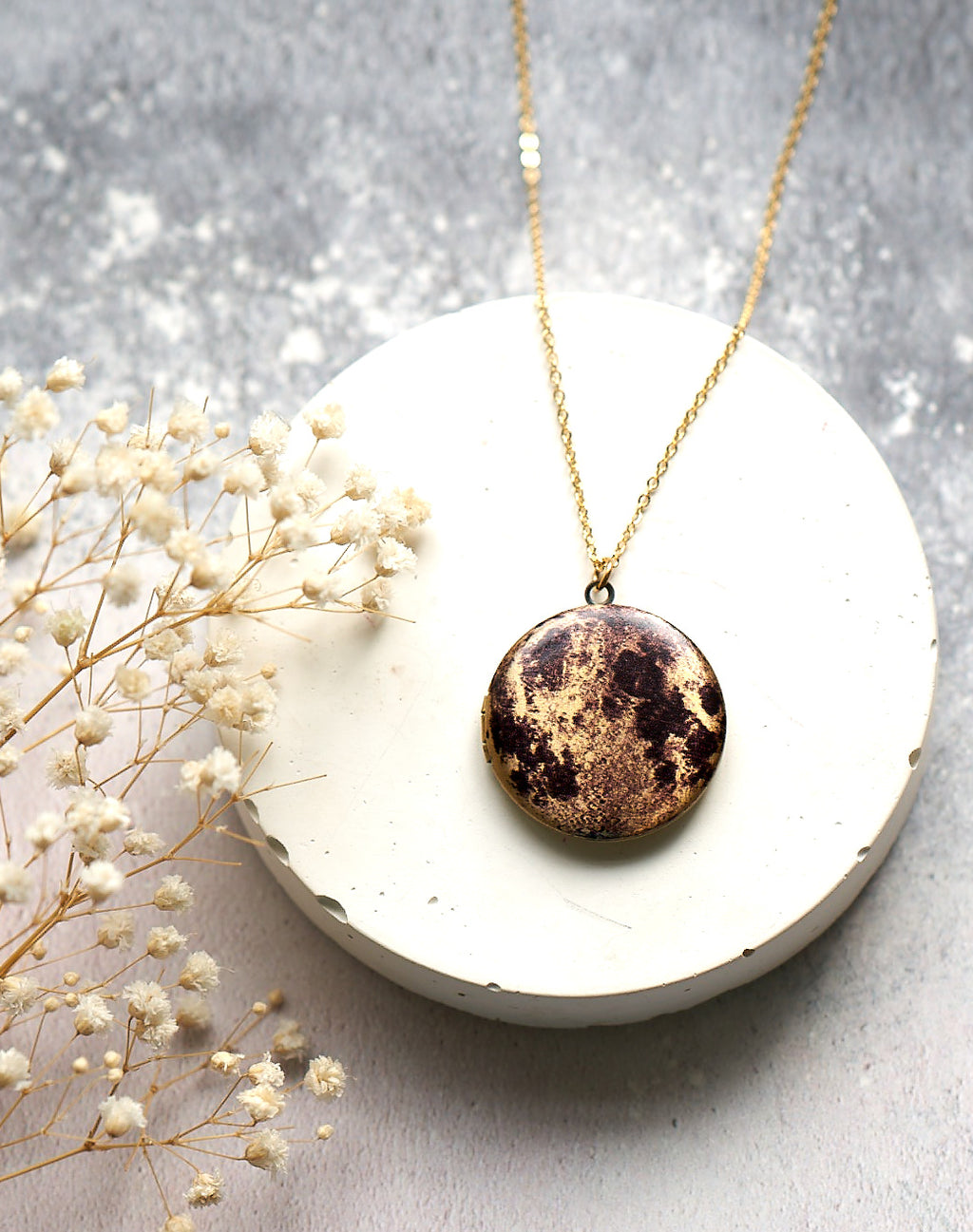 SECONDS - Over This Moon Locket