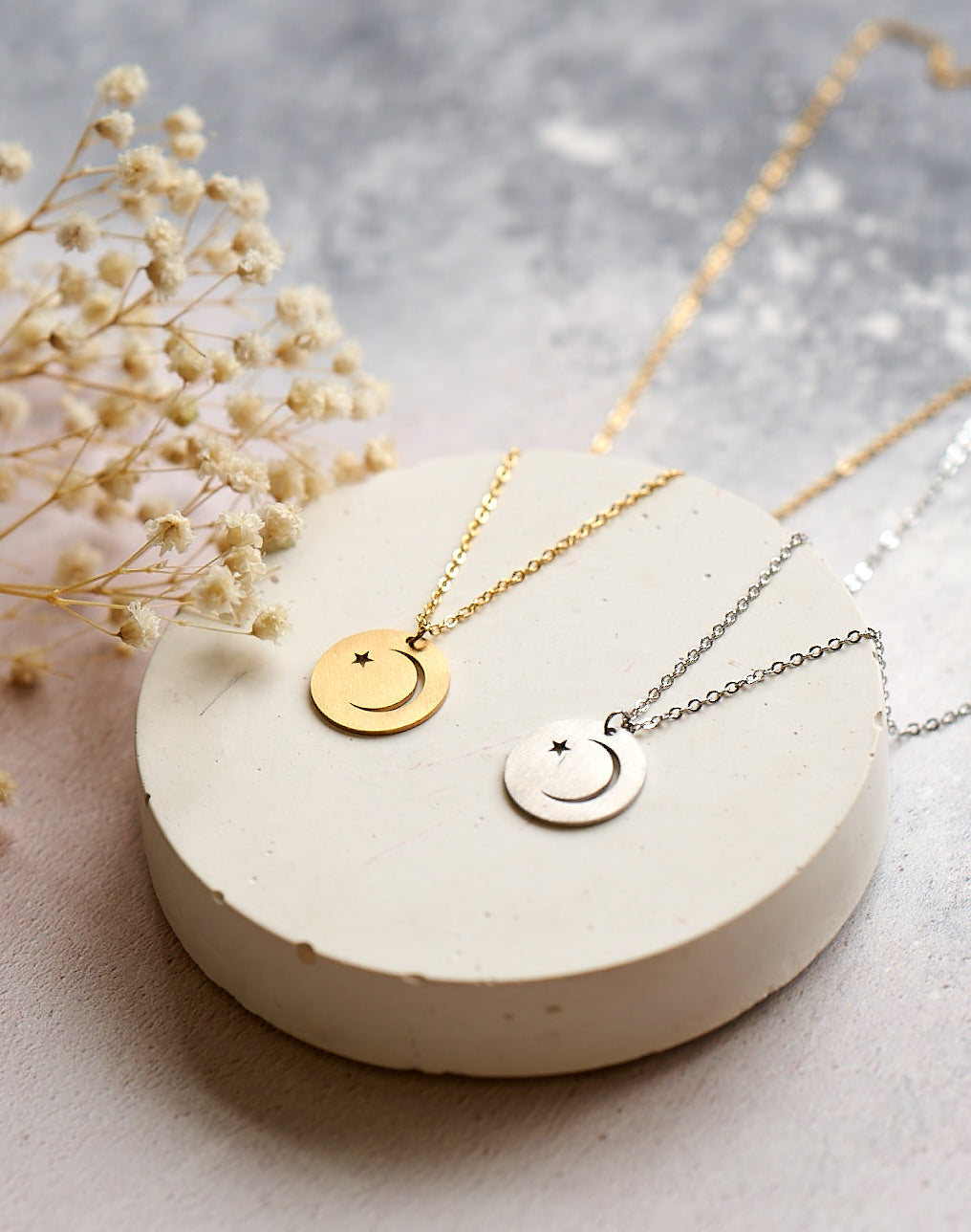 SECONDS- My Moon and Stars necklace