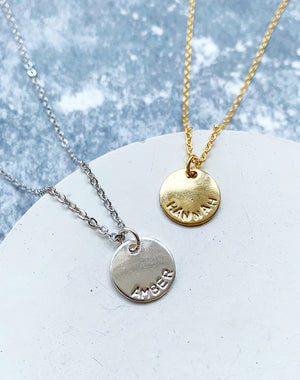 You Are Amazing - Personalised Name Necklace
