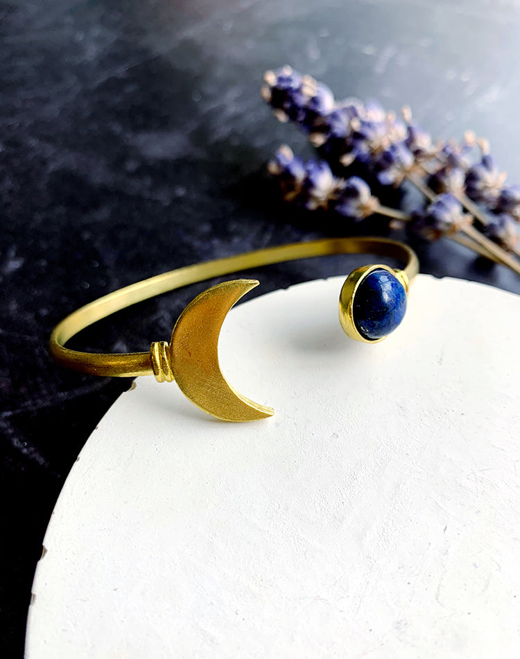 Polar - Lapis Lazuli Moon Bangle