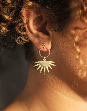 Rays The Roof - Sun Ray Earrings