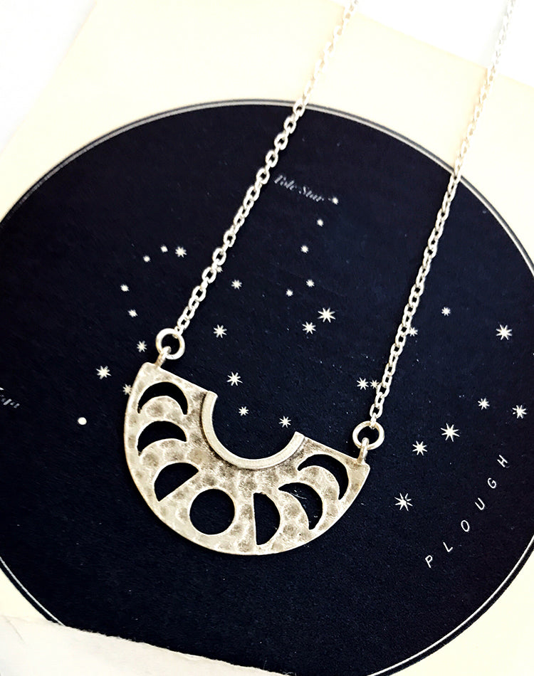 Roam Moon Phase Necklace