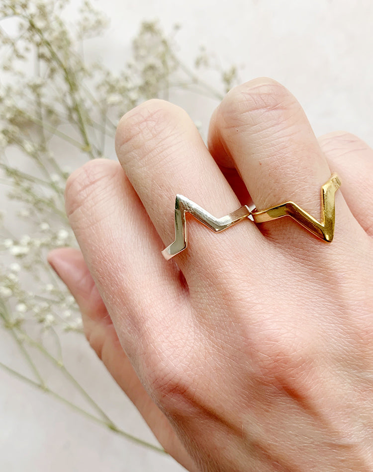 Tor Chevron Ring