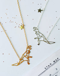 Tyrannosaurus Major Personalised Constellation Dinosaur Necklace