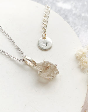 Union: Herkimer Diamond Personalised Necklace