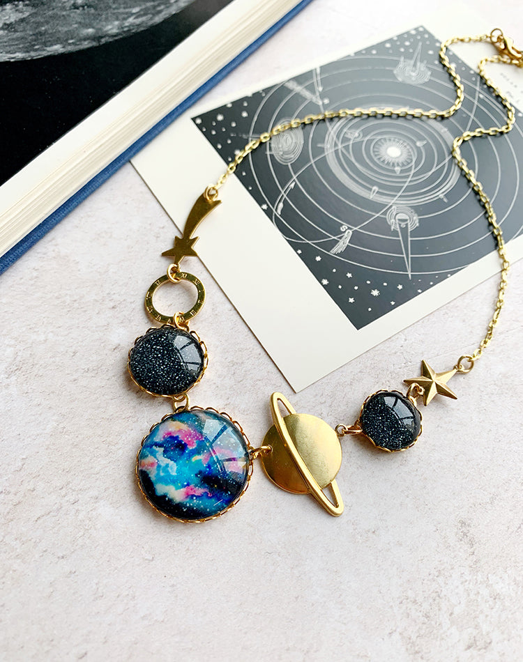 About Time - Space Necklace