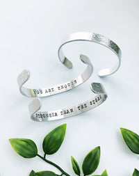 Affirmation Personalised Mindfulness Bangle