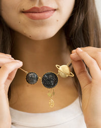 All That Matters - Dark Matter Space Necklace