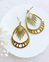 Ankita Moon Phase Earrings
