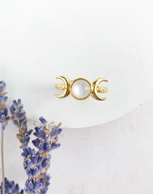 Beam - Moon Phase Ring