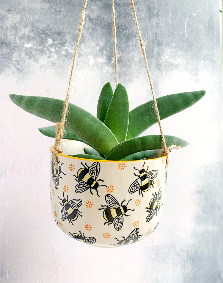 Busy Bee Hanging Planter