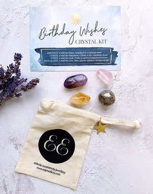 Birthday Wishes Crystal Kit