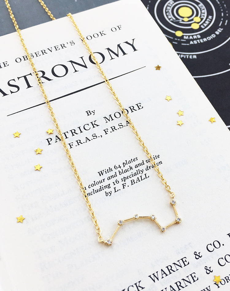 Callisto: Ursa Major Constellation Necklace
